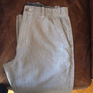 Summer weight relaxed fit cotton linen trouser